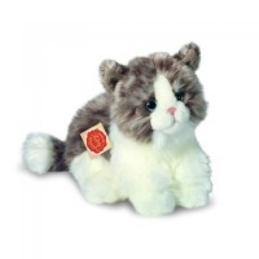 Hermann Teddy Original Cat sitting grey-03