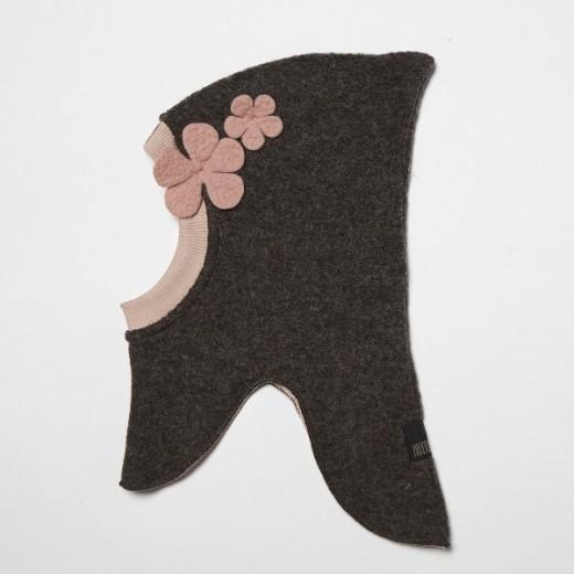 HUTTEliHUT elefanthue brown/rosa flower-31