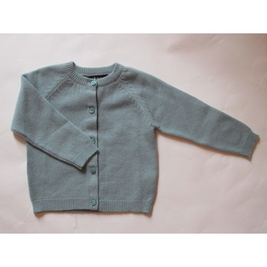 astas cashmere cardigan Duschet blue-02