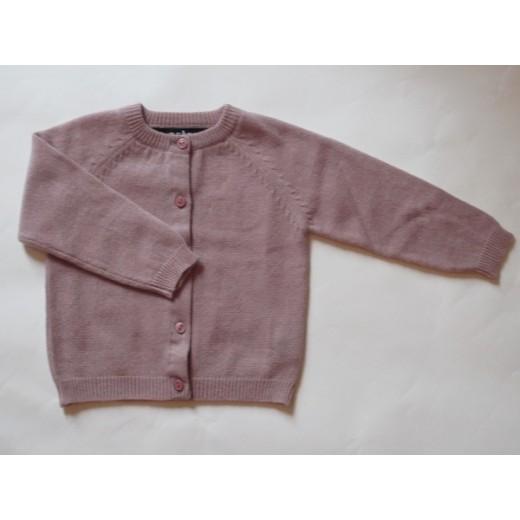 astas cashmere cardigan Duschet rosa-02