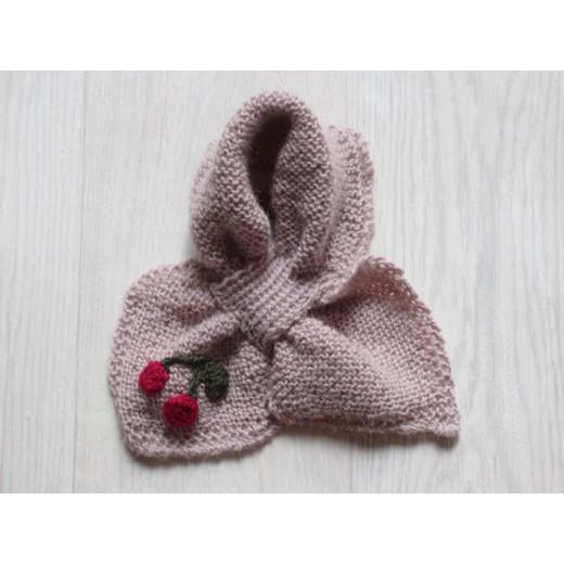 astas Cherry scarf pink-31