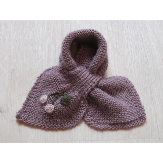 astas Cherry scarf light lavender-31