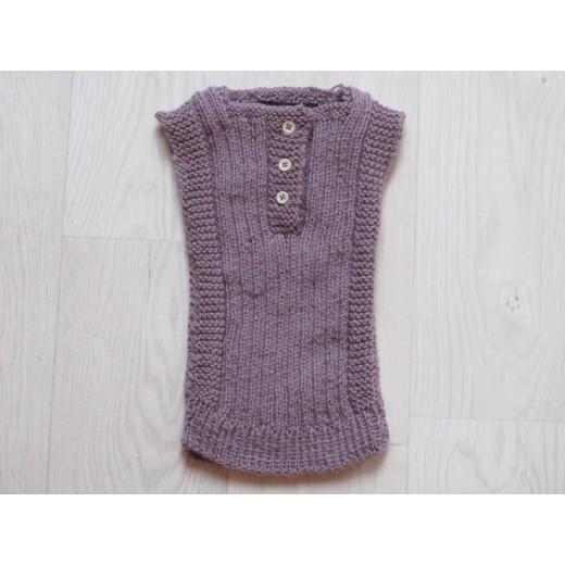 astas vest baby alpaca wool light lavender-31