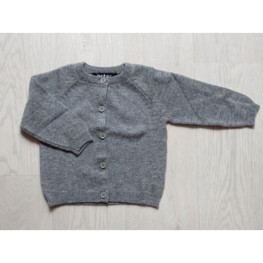astas cashmere cardigan Grey-31