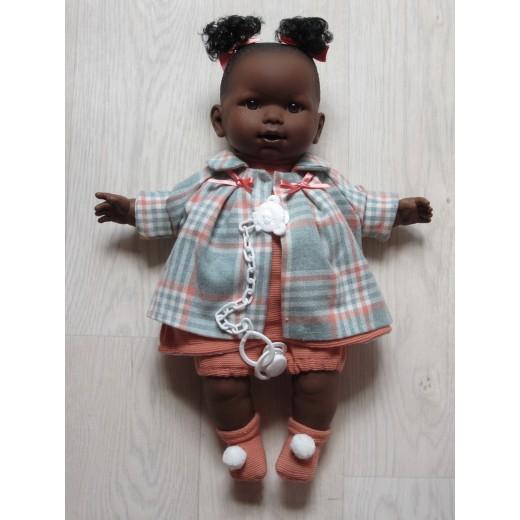Llorens mørk dukke 42 cm-33