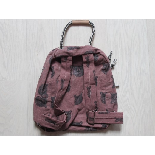 moumout backpack bear/old pink-32