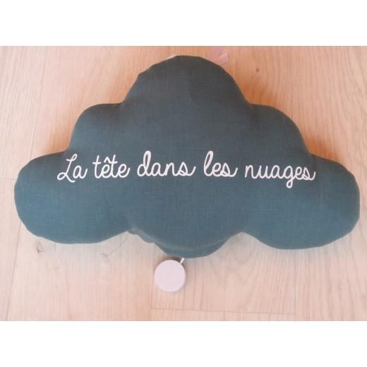 Oh La La Paris Cloud La tête dans les nuages night light/mucical teal green-05
