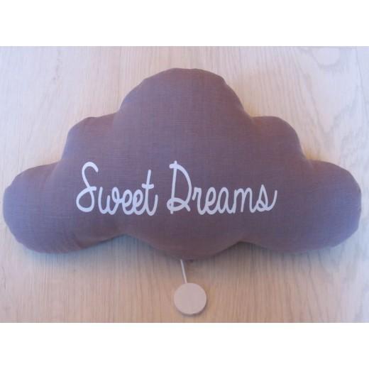 TOI-MÊME PARIS Cloud night light/mucical Sweet Dreams lavendel-03