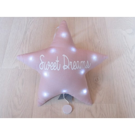 Oh La La Paris Star sweet dreams night light/mucical pink-32