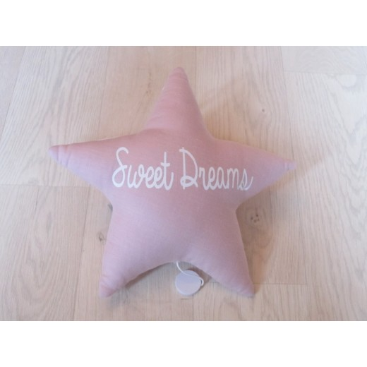 Oh La La Paris Star sweet dreams night light/mucical pink-02