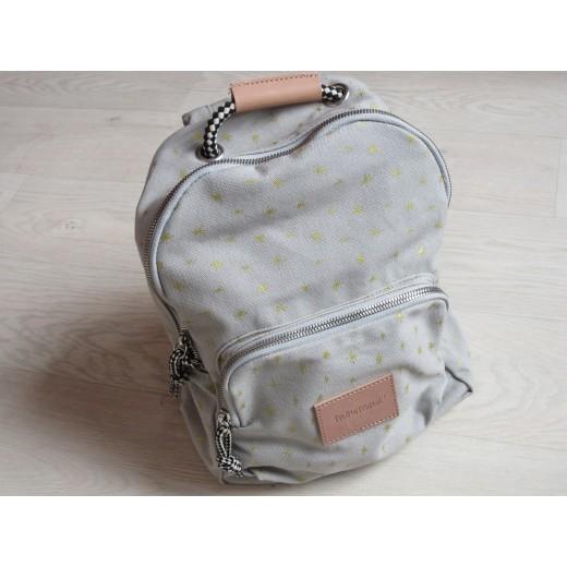moumout backpack etoile/gris-32