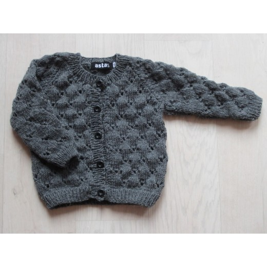 astas Clover cardigan light grey pre-order possible-01