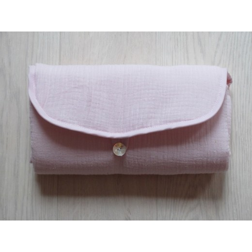 Pois.Plume Portable changing pad rose pale-34