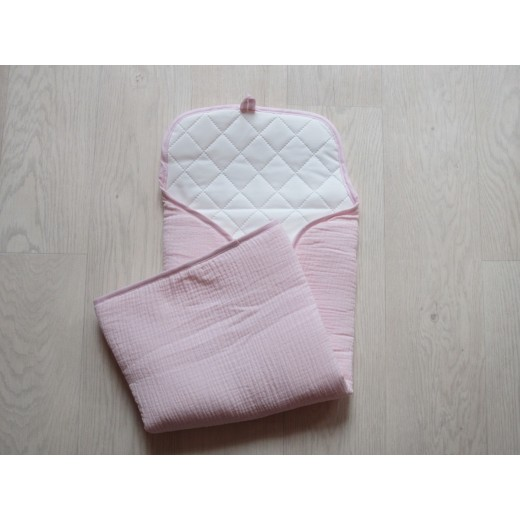 Pois.Plume Portable changing pad rose pale-04