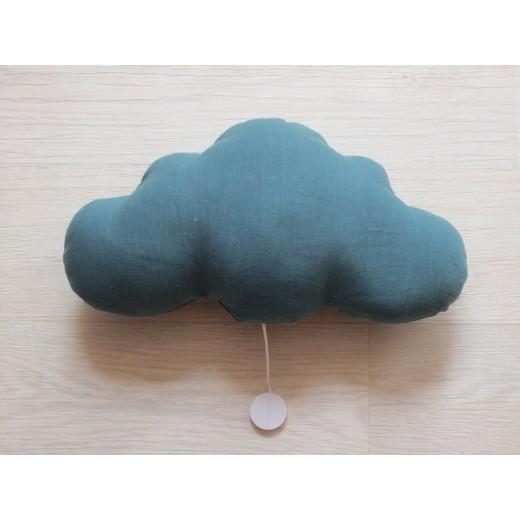 Oh La La Paris Cloud night light/mucical teal-07