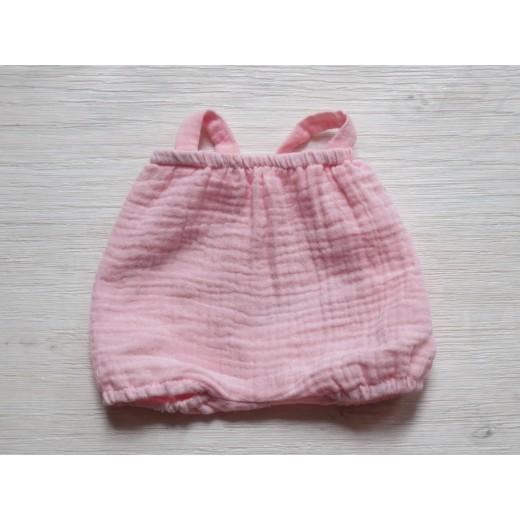 minikane Dukketøj Bloomer dragt rose-34