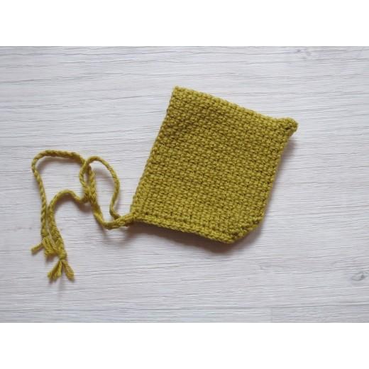 minikane Dukketøj Kyse spids mustard-325