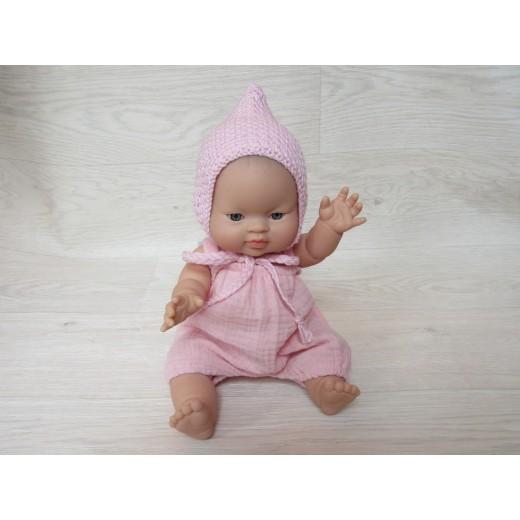 minikane Dukketøj Kyse spids rose-022