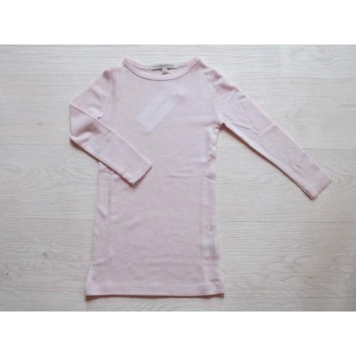 LILLI and LEOPOLD Uldtrøje Langærmet T-Shirt Dusty Pink-313