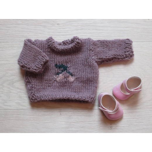 astas Dukke Cherry Sweater lavender-32