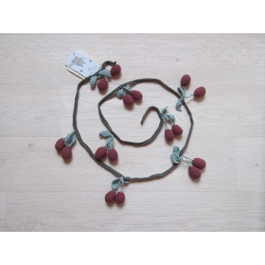 Shirley Bredal Cherry Garland deep berry 150 cm-31