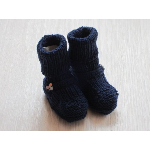 astas Booties navy uld-32