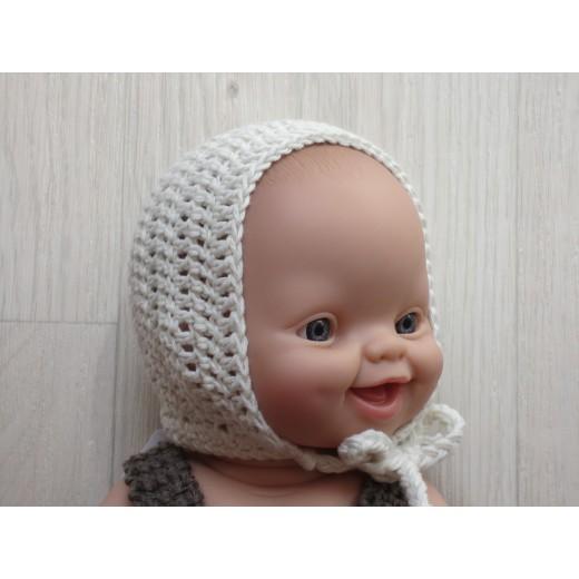 astas dukketøj Bonnet lavendel 30-35 cm-08