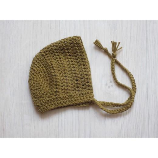 astas dukketøj Bonnet mustard 30-35 cm-36