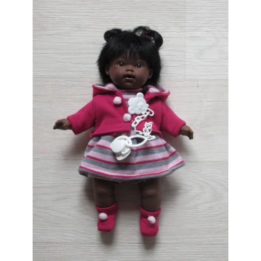 Llorens mørk dukke 33 cm-32