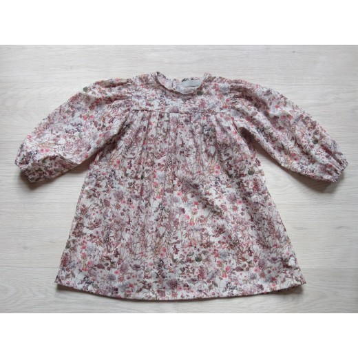 Astas Kjole Wild Flower Dress dusty rose liberty-35