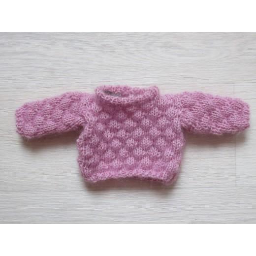 astasDukketjFluffyPuffyBubbleSweaterpink-32