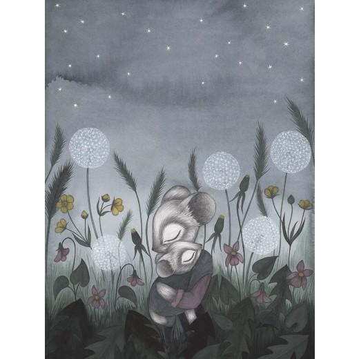 Kajsa Wallin Print Twilight 30x40 cm-313