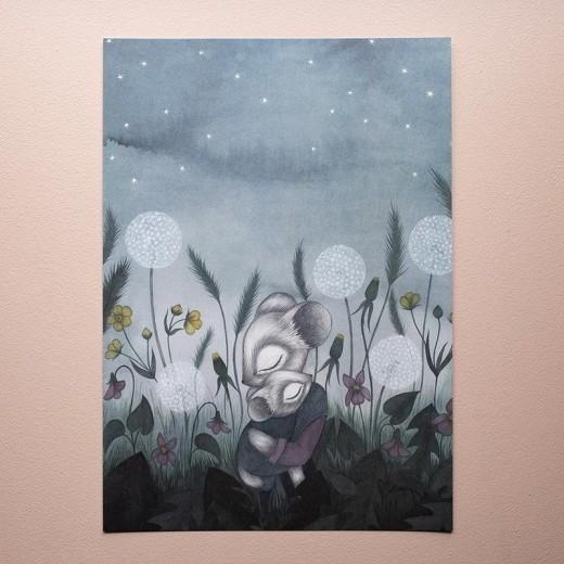 Kajsa Wallin Print Twilight 30x40 cm-013
