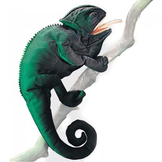 Folkmanis Hånddukke Chameleon-31