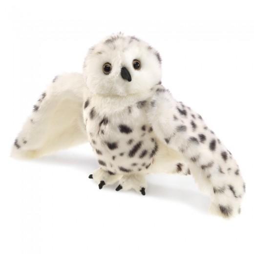Folkmanis Hånddukke Snowy Owl-33
