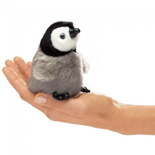 Folkmanis Fingerdukke Mini Baby Kejser Pingvin-32