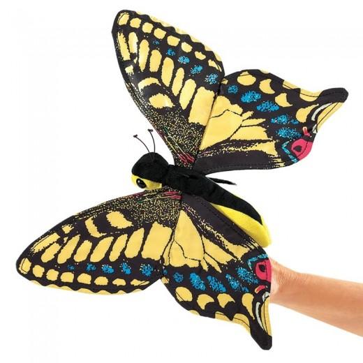 Folkmanis Swallowtail Butterfly fingerdukke-31