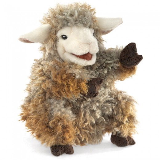 Folkmanis Woolly Lamb-32
