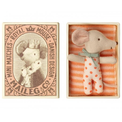 maileg Sleepy-Wakey baby girl in box-34