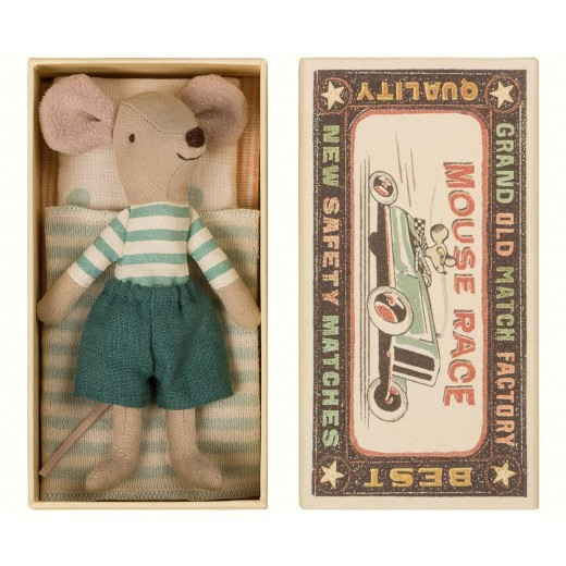 maileg Mouse Big Brother in box-34