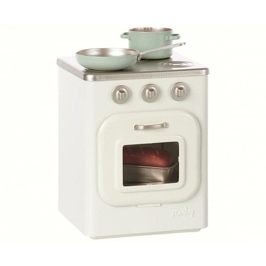 maileg Metal Stove w/utensils-33