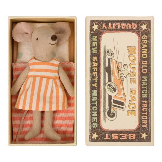 maileg Mouse Big Sister in box-38