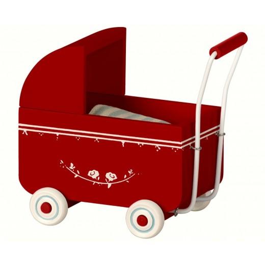 maileg Dukkevogn red-32