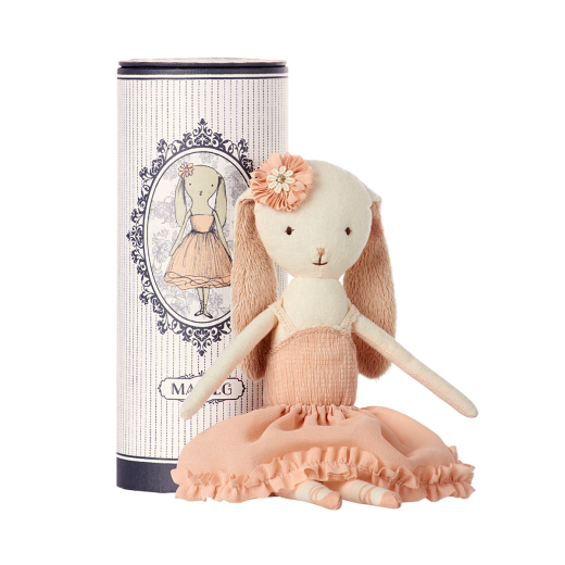 maileg Dancing Ballerina Bunny in tube-32