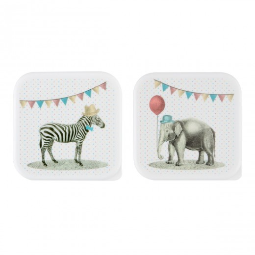 sass and belle Party animal lunch box zebra-01