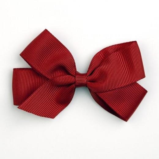 Verity Jones London Scarlet hair clip medium-32