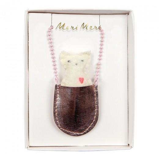 Meri Meri Halskæde Cat Pocket-32