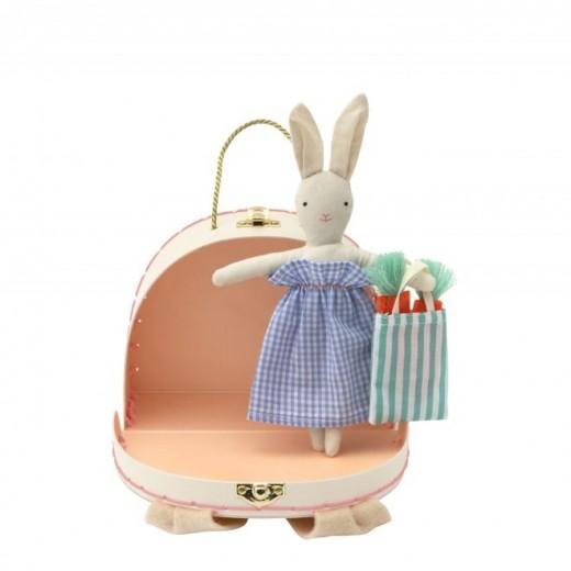 Meri Meri Mini Dukke Bunny i Bunny Case-39