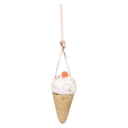 Meri Meri Taske Ice Cream Straw Cross Body Bag-32