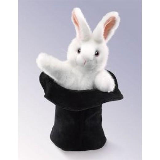 Folkmanis Kanin i Hatten hånddukke-31